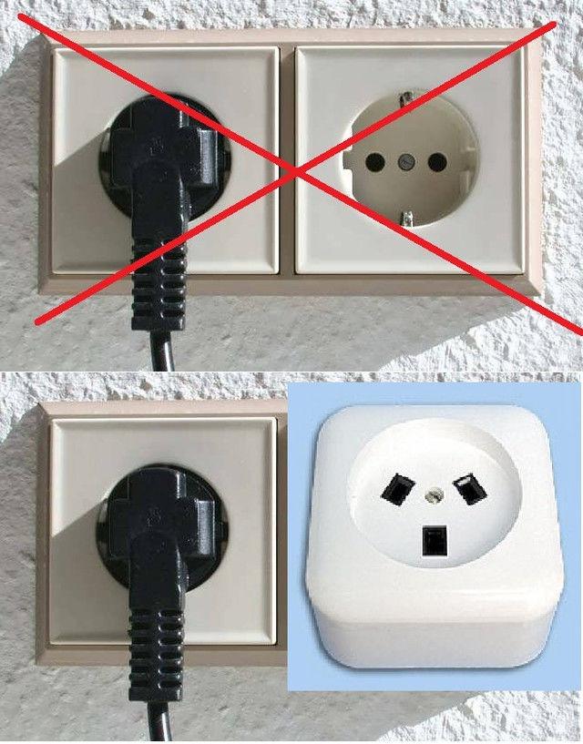 Подключение духового шкафа к электросети евророзетка