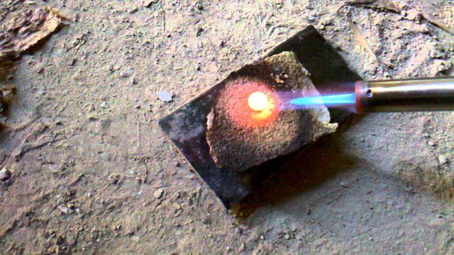 Как расплавить медь в домашних условиях видео