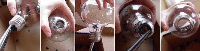 Аквариум из лампочки своими руками 348