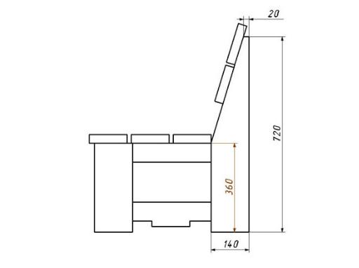 Как изготовить деревянную скамейку своими руками
