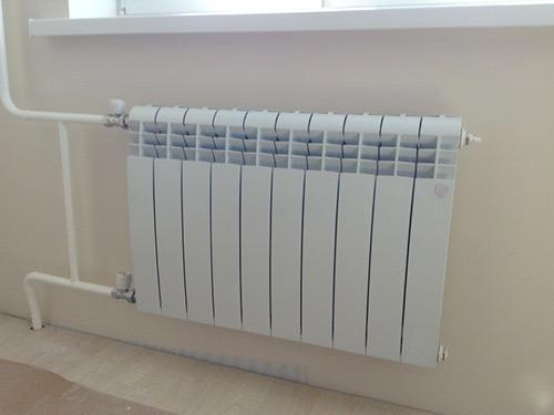 Байпас перед радиатором отопления
