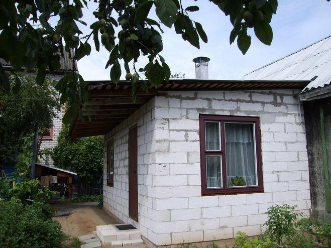 Как сделать пристройку к деревянному дому из блоков своими руками 12