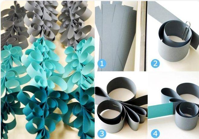 Как сделать бумажную гирлянду своими руками на новый год