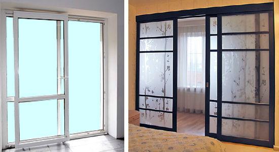 Какую дверь выбрать для лоджии?.