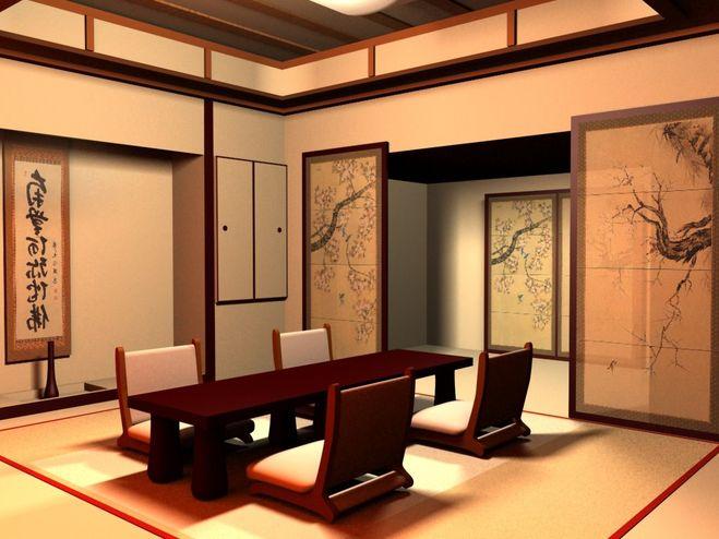 Японский дух в интерьере квартиры