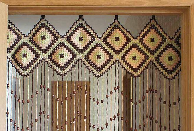 шторы из бусинок