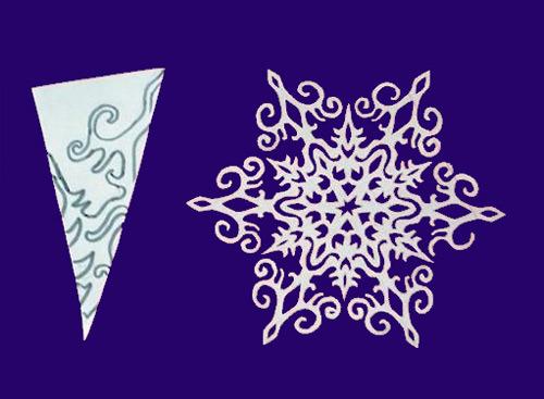 Сделать снежинку своими руками оригами