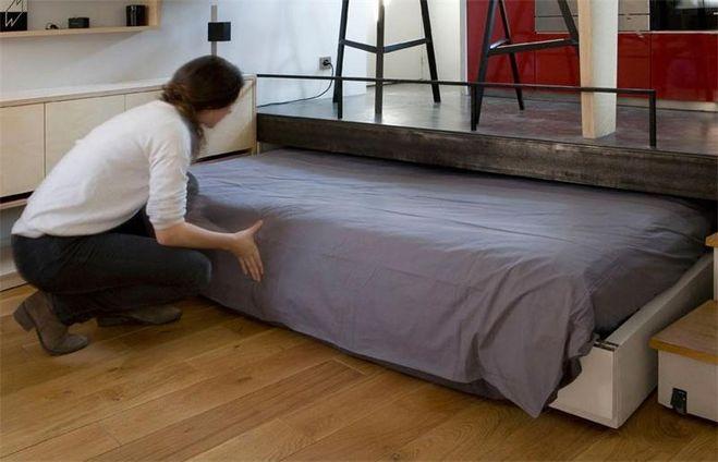 Кровать на полу своими руками фото 67
