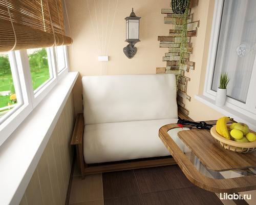 Обустройства балкона как зоны отдыха