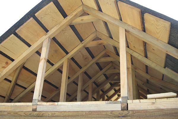 Крыша из рубероида своими руками на деревянную