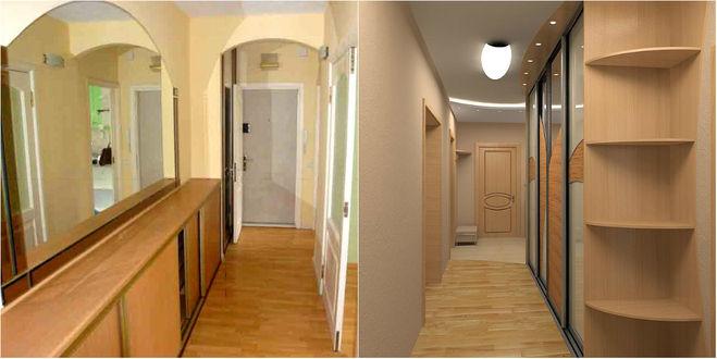 Фото как сделать коридор шире