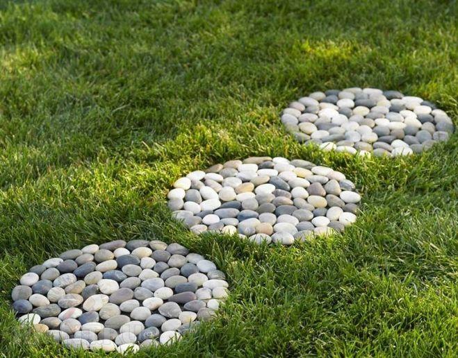галька и мелкие камни