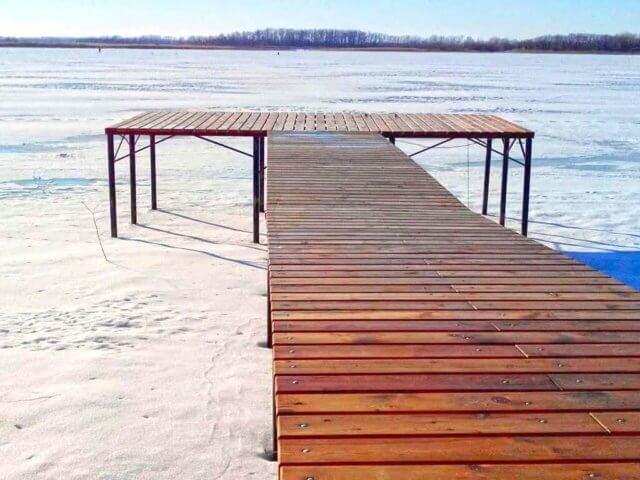 Как сделать мостки на реке фото 345