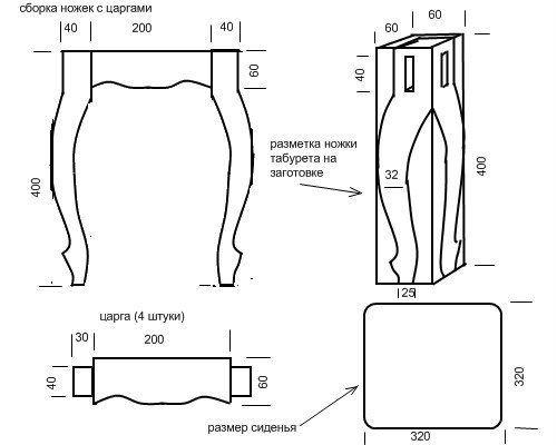 Как сделать гнутые ножки для стола своими руками