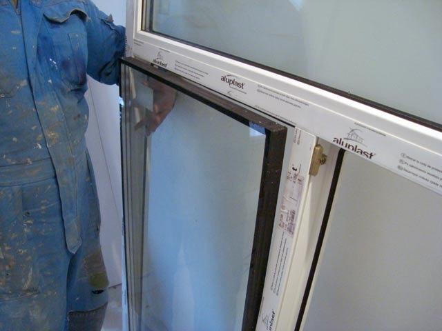 Как заменить стекла в стеклопакете самому