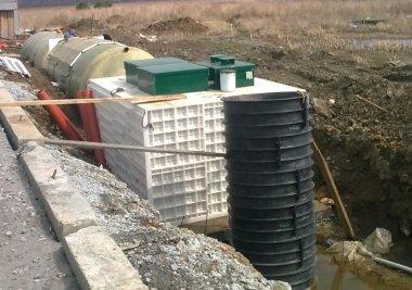 Установка автономной канализации в Киеве