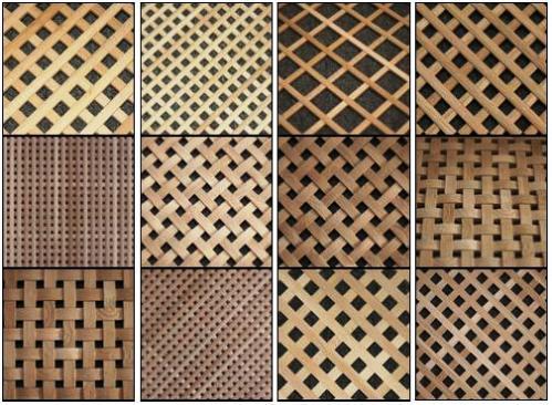 Как сделать деревянные решетки на беседку