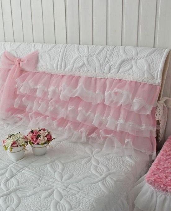 Как украсить спинку кровати для девочки своими руками фото