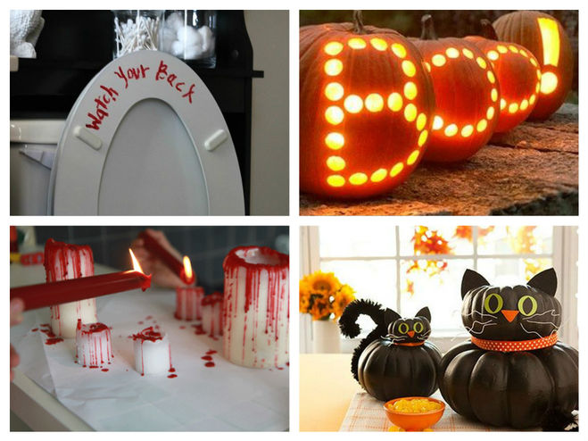 Как украсить детскую комнату к Хеллоуину