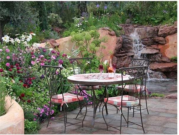 сад, ландшафтный дизайн