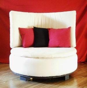 диван из покрышек