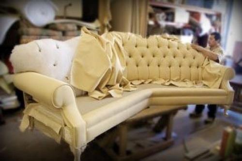 самому перетянуть обивку дивана