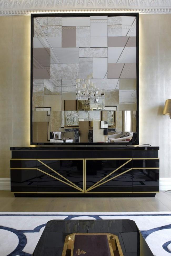 зеркало в интерьере