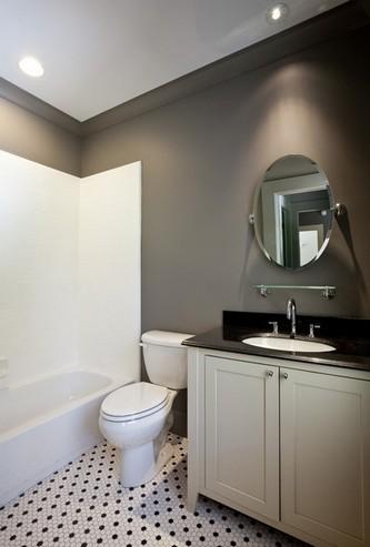 покраска стен в туалете