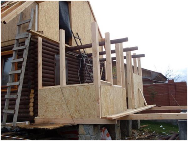 Как сделать пристройку к деревянному дому своими руками
