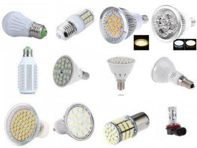 Разные светодиодные лампы.
