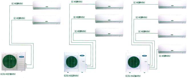 Схема компрессионного цикла