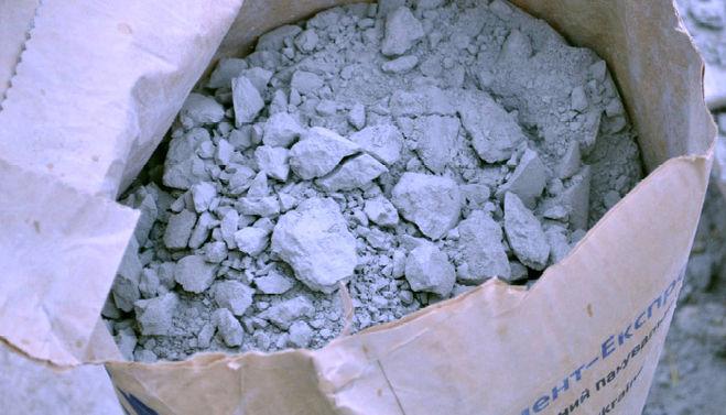испорченный цемент