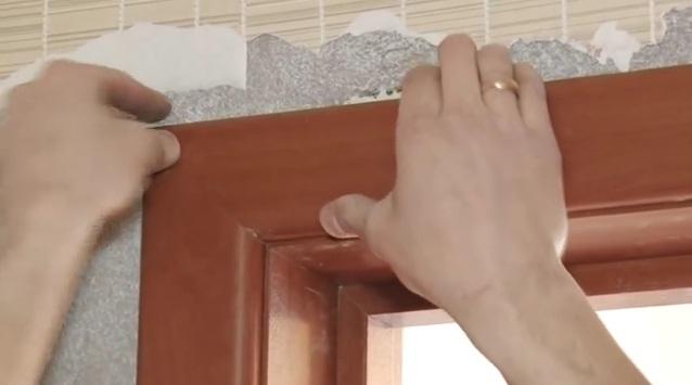 Установка дверного порожка своими руками 84
