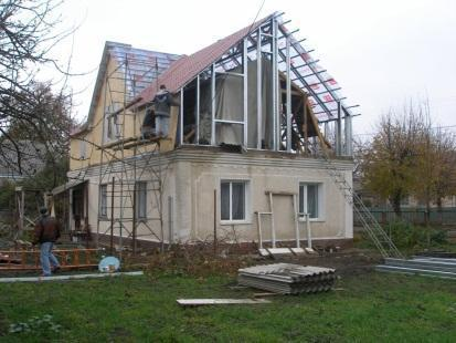 Строительство второго этажа на старом доме 5