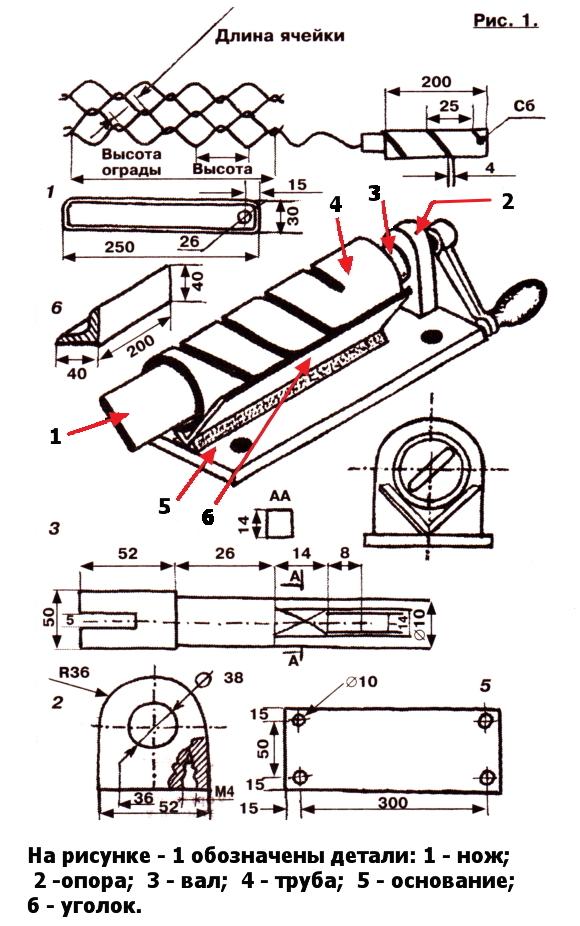 храма преподобных как сделать ручной станок для сетки рабица определения промежуточных