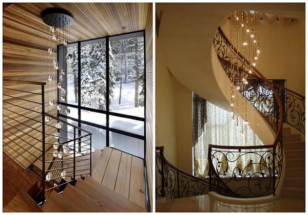 лестница, освещение