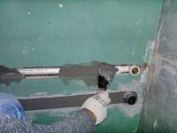Штробление гипсокартона под проводку