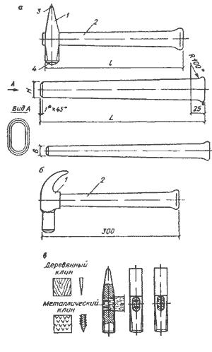 Молоток своими руками чертежи 686