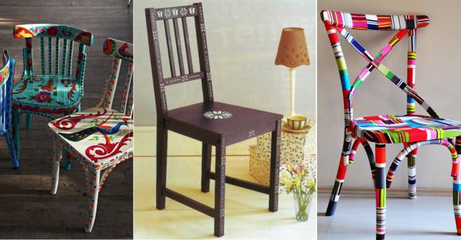 Красить стулья своими руками фото 263