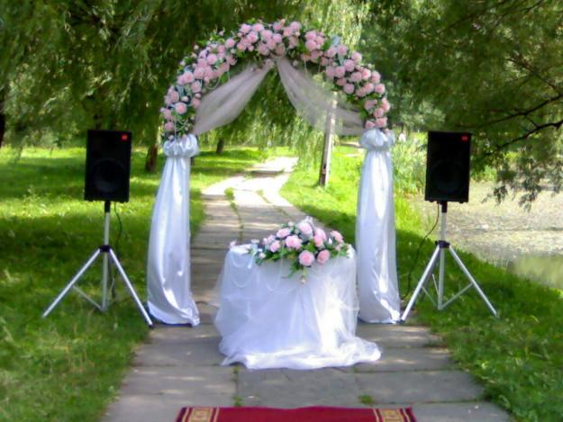 Как сделать арку свадебную своими руками