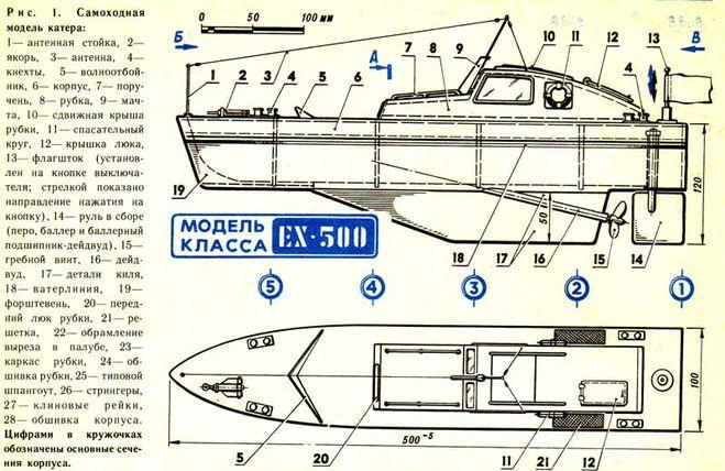 Как сделать корпус катера своими руками 83