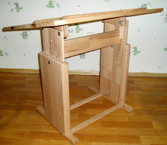 стол растущий школьнику своими руками