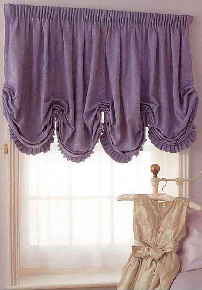 Какой длины должны быть шторы