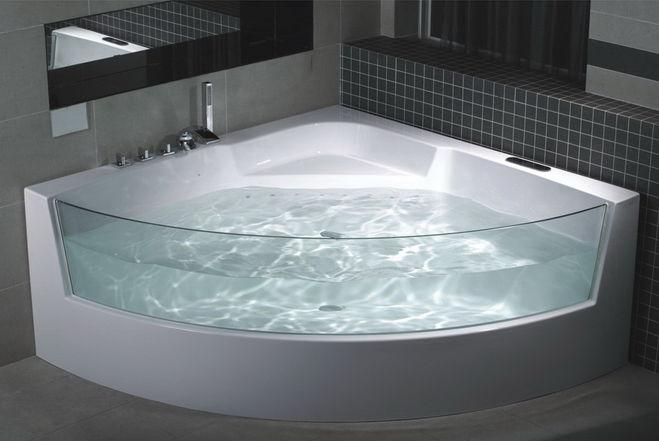 прозрачна ванна