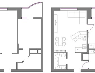 Идеальная перепланировка хрущевки - Дом Ремонт Дизайн