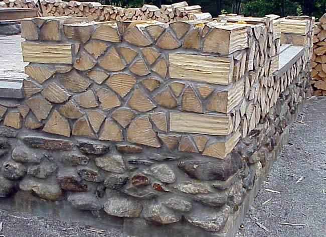 Баня из камня своими руками