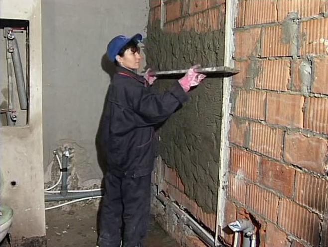 Как проще выровнять стены своими руками