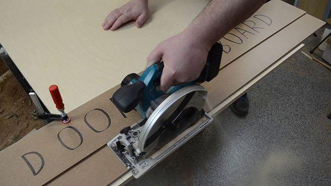Направляющая шина для циркулярной пилы своими руками инструкция 16