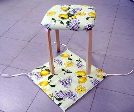 Мягкий чехол для стула своими руками