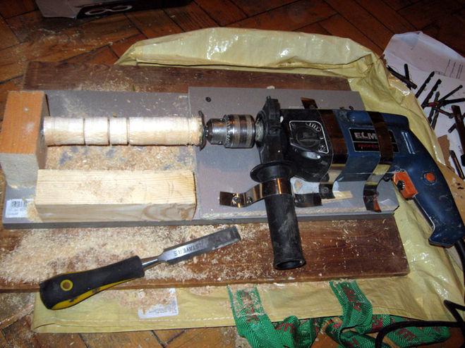 Как сделать токарный станок из шуруповёрта